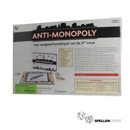 Anti Monopoly | Spellen Expert