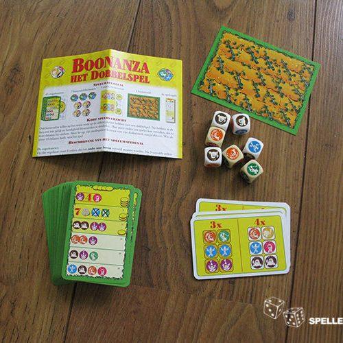 Boonanza - Het dobbelsteenspel | Spellen Expert