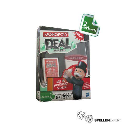 Monopoly Deal Shuffle Shaker | Spellen Expert