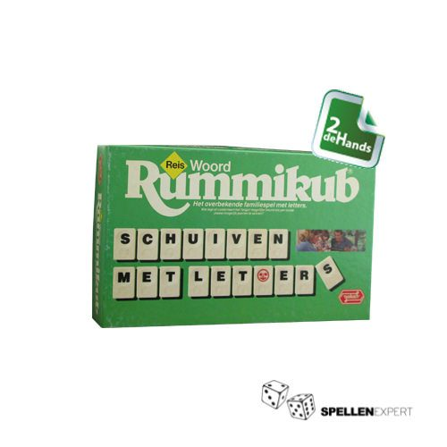 Rummikub woord reiseditie | Spellen Expert