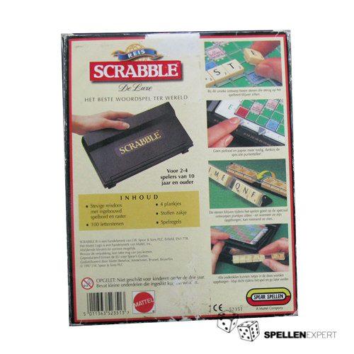 Scrabble Deluxe reiseditie | Spellen Expert