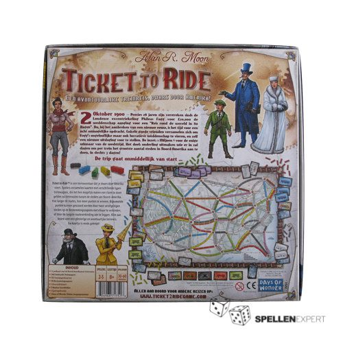 Ticket to Ride | Spellen Expert