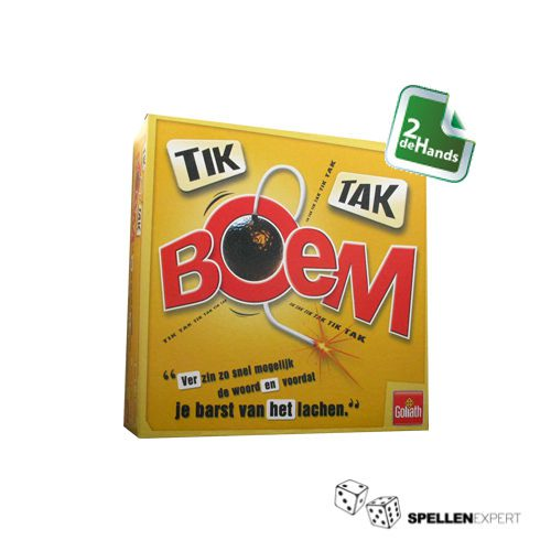 Tik Tak Boem | Spellen Expert