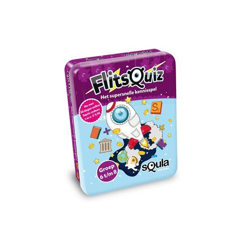Squla Flitsquiz (Groep 6 t/m 8) | Spellen Expert