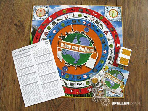 Ik hou van Holland spel | Spellen Expert