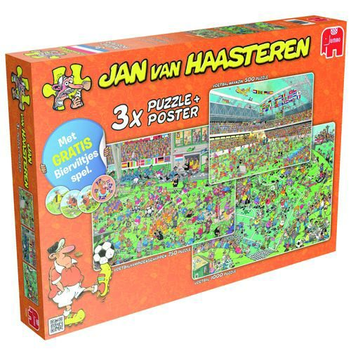 Jan van Haasteren - Voetbal | Spellen Expert