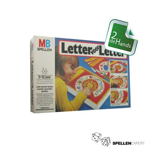 Letter voor Letter | Spellen Expert