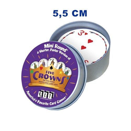Five Crowns mini tiny tin | Spellen Expert