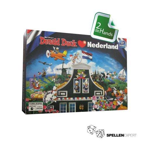 Donald Duck houdt van Nederland | Spellen Expert