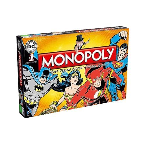 Monopoly DC retro | Spellen Expert