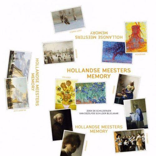 Hollandse Meesters Memory | Spellen Expert