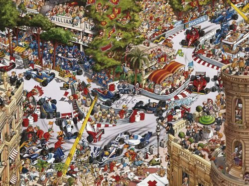 Monaco Classics legpuzzel | Spellen Expert