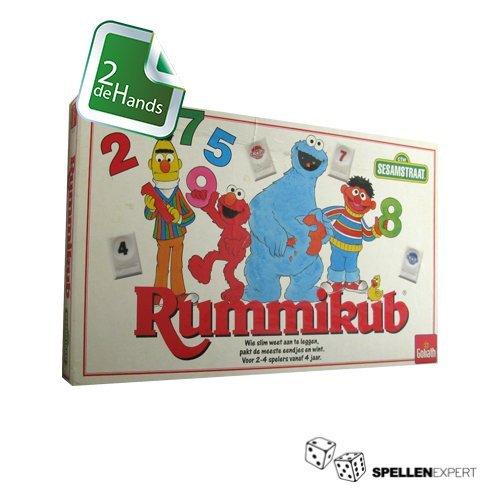 Rummikub Sesamstraat | Spellen Expert