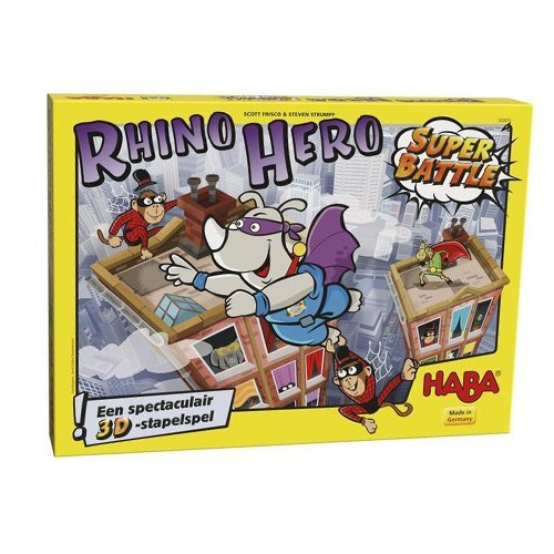 Rhino Hero super battle | Spellen Expert