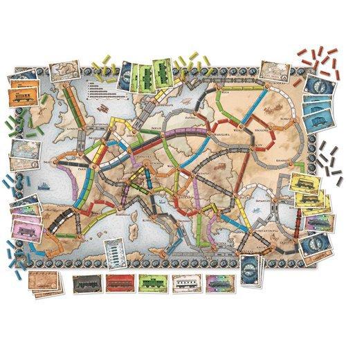 Ticket to Ride Europe | Spellen Expert