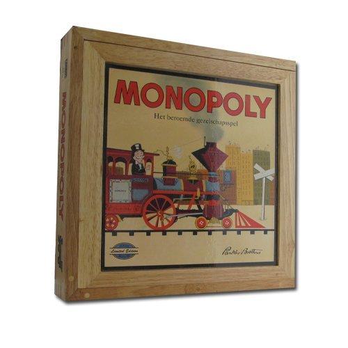 Monopoly retro hout | Spellen Expert