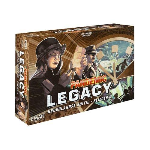Pandemic Legacy seizoen 0   Spellen Expert