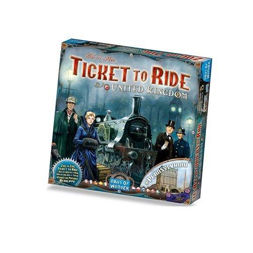 Ticket to Ride: UK/Pennsylvania | Spellen Expert