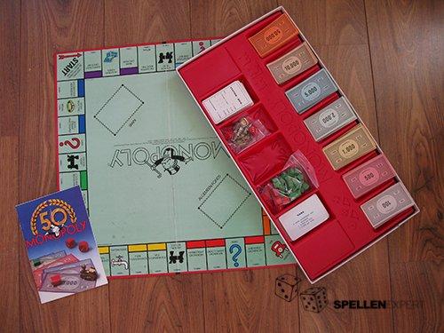 Monopoly 50 jaar | Spellen Expert