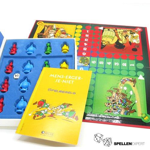 Asterix - Mens erger je Niet   Spellen Expert